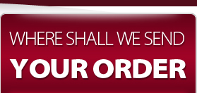 Where Shall We Send Your Order